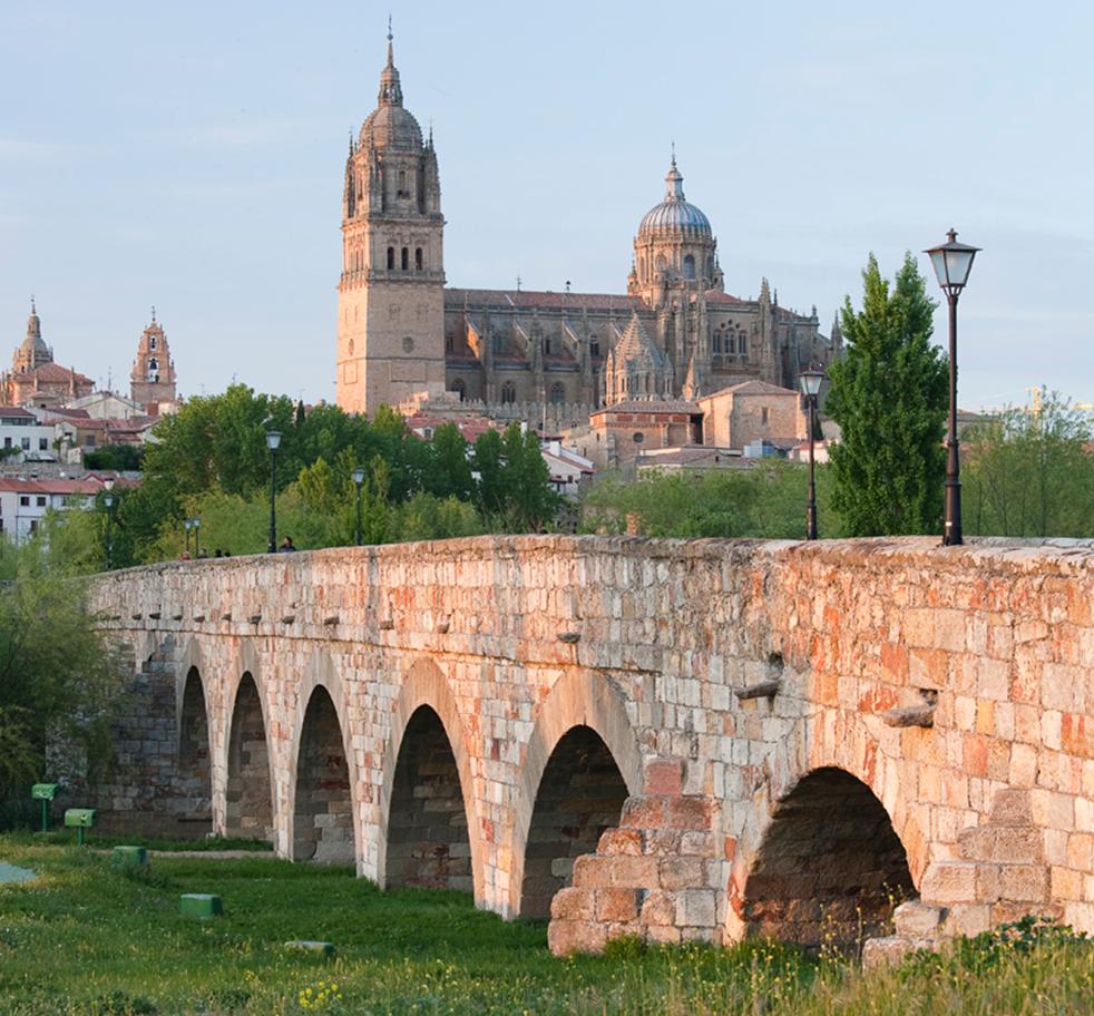 Salamanca en la Vía de la plata