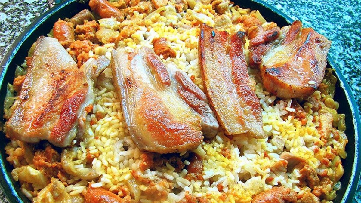 arroz a la zamorana plato típico de castilla y león por el camino de la plata