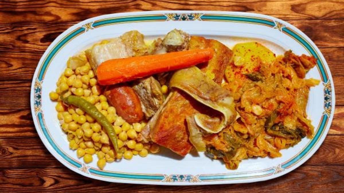 cocido maragato, plato típico de castilla y león por el camino de la plata