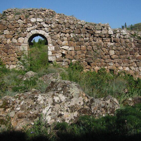 Fortin Romano de La Calzada de Béjar a su paso por el Camino de la Plata