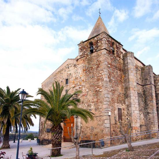 La iglesia parroquial de San Andrés