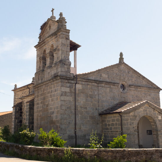 Iglesia de Santiago de Matamoros en Valverde de Valdelacasa