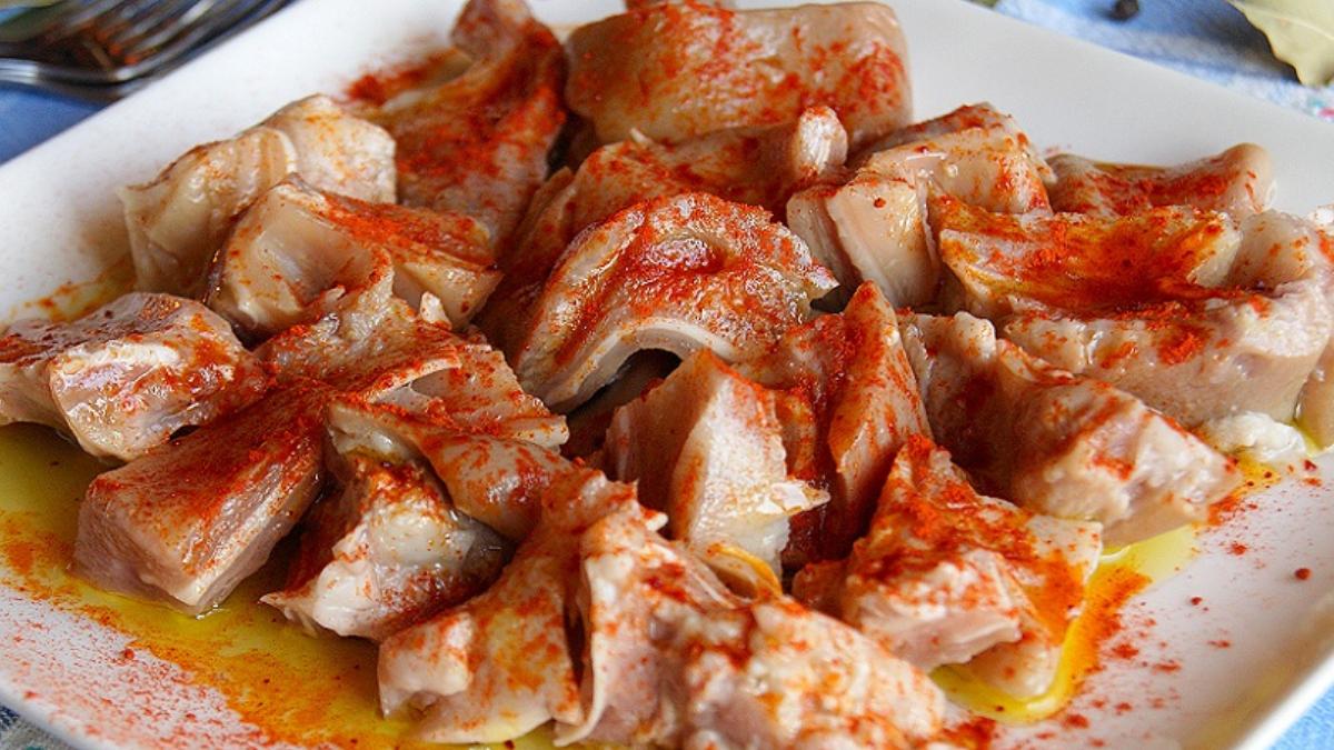orellas, plato típico de la gastronomía de galicia
