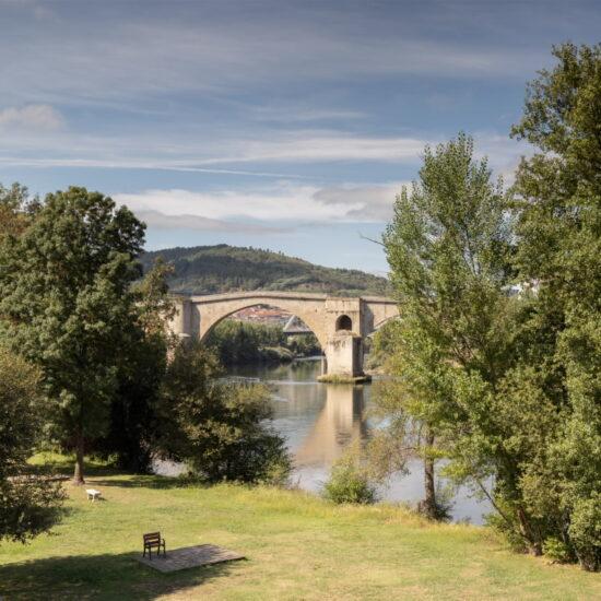 Rio Miño a su paso por Ourense