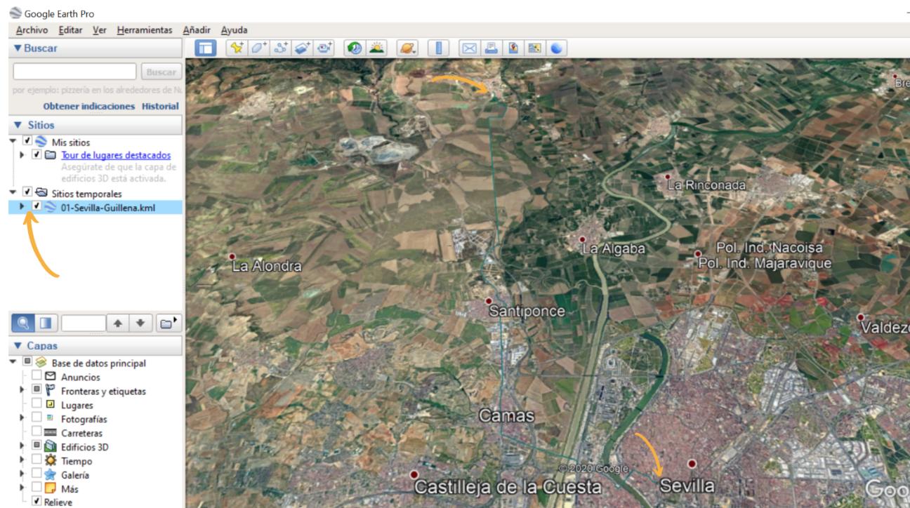 mapas camino de santiago