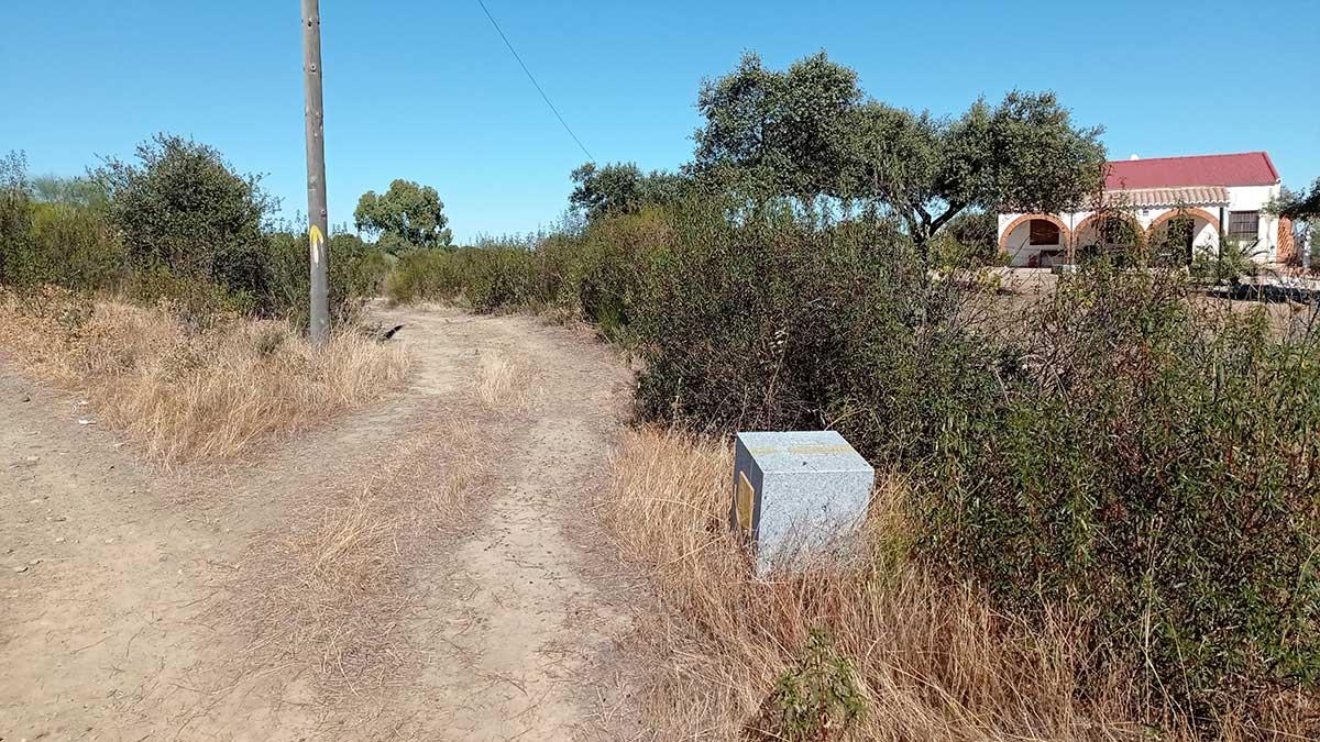 reparación flechas del camino de santiago