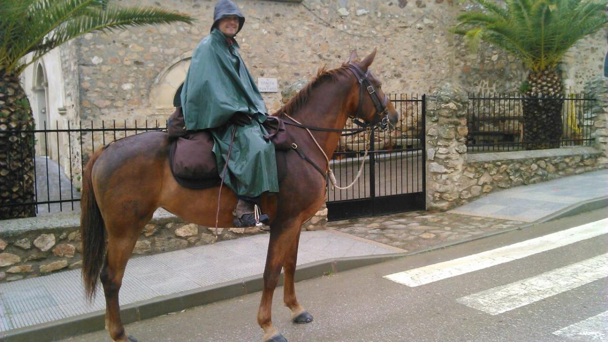 camino de la plata a caballo