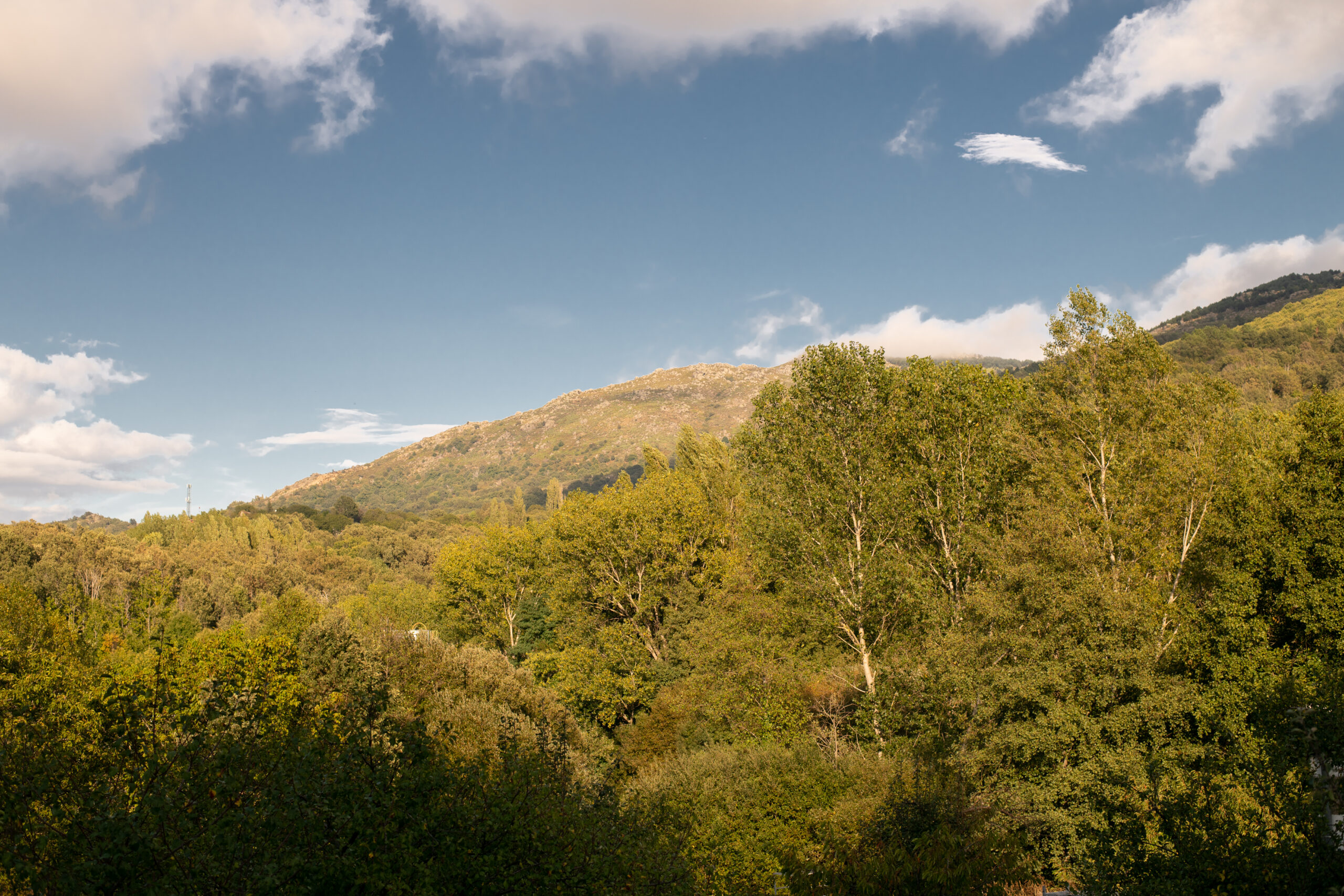 paisajes de naturaleza por el camino de la plata
