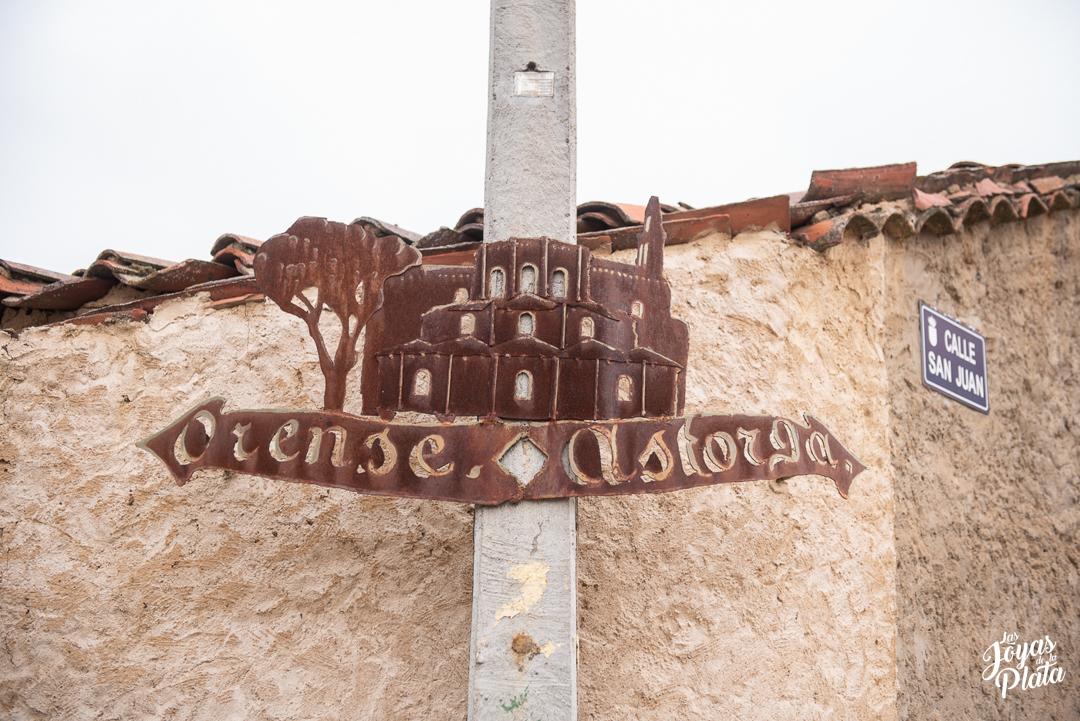 Granja de Moreruela por el camino de la plata hacia santiago de compostela en nuestra peregrinación