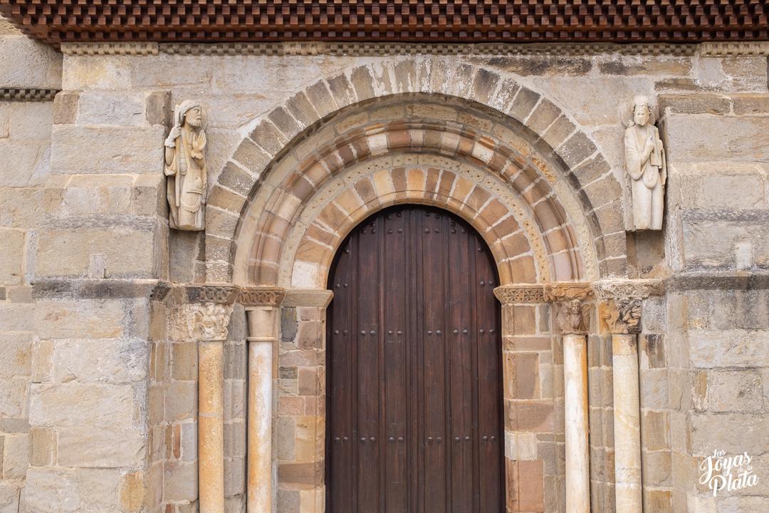 Iglesia de Santa Marta de Tera a nuestro paso por el camino de la plata