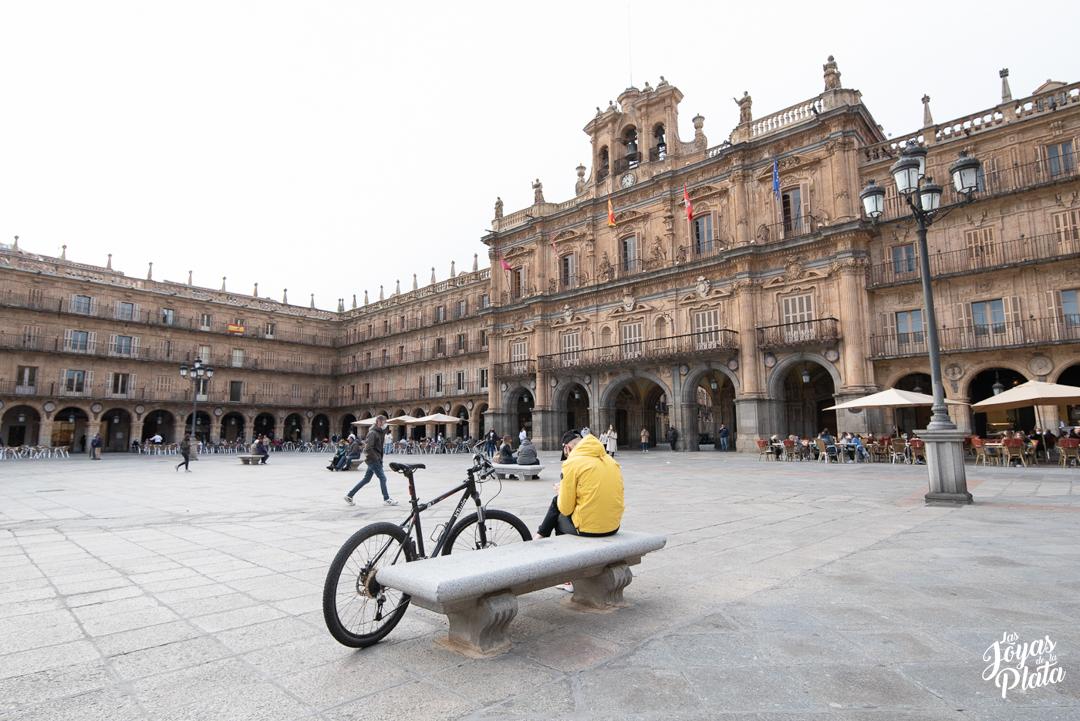 La Plaza Mayor de Salamanca, una de las más famosas de España